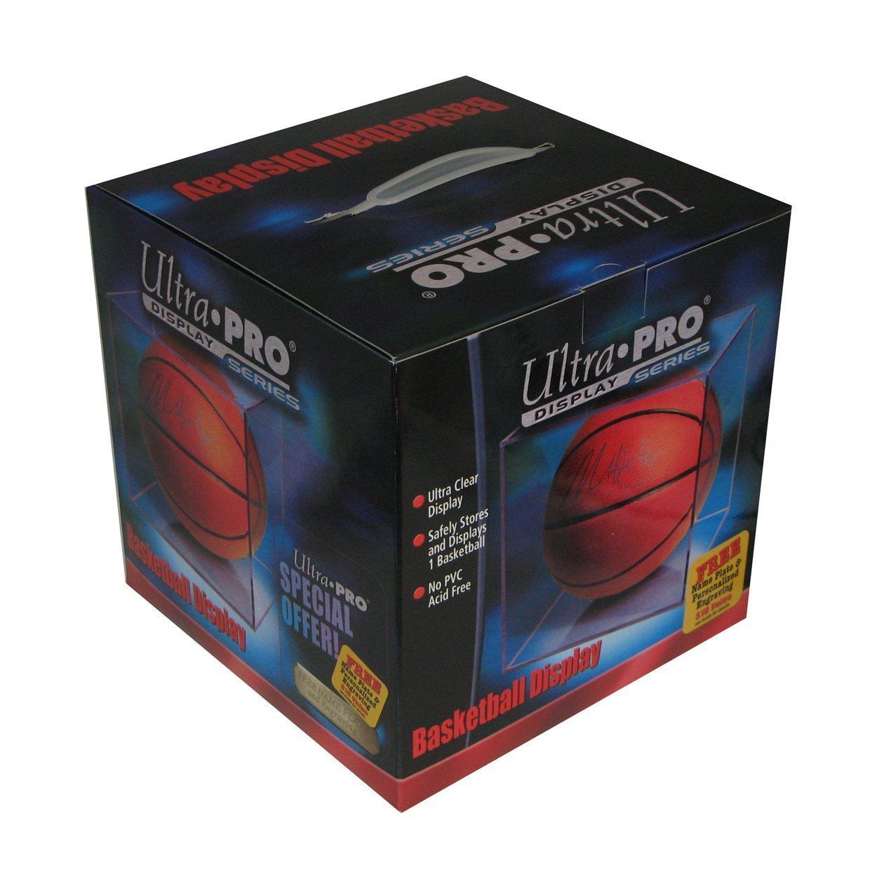 REGULATION BASKETBALL ULTRA CLEAR  DISPLAY CASE HOLDER by Ultra Pro