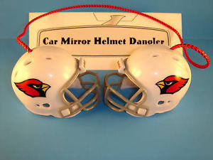 ARIZONA CARDINALS CAR/HOUSE NFL FOOTBALL HELMET KNOCKERS-Hang from Anything!
