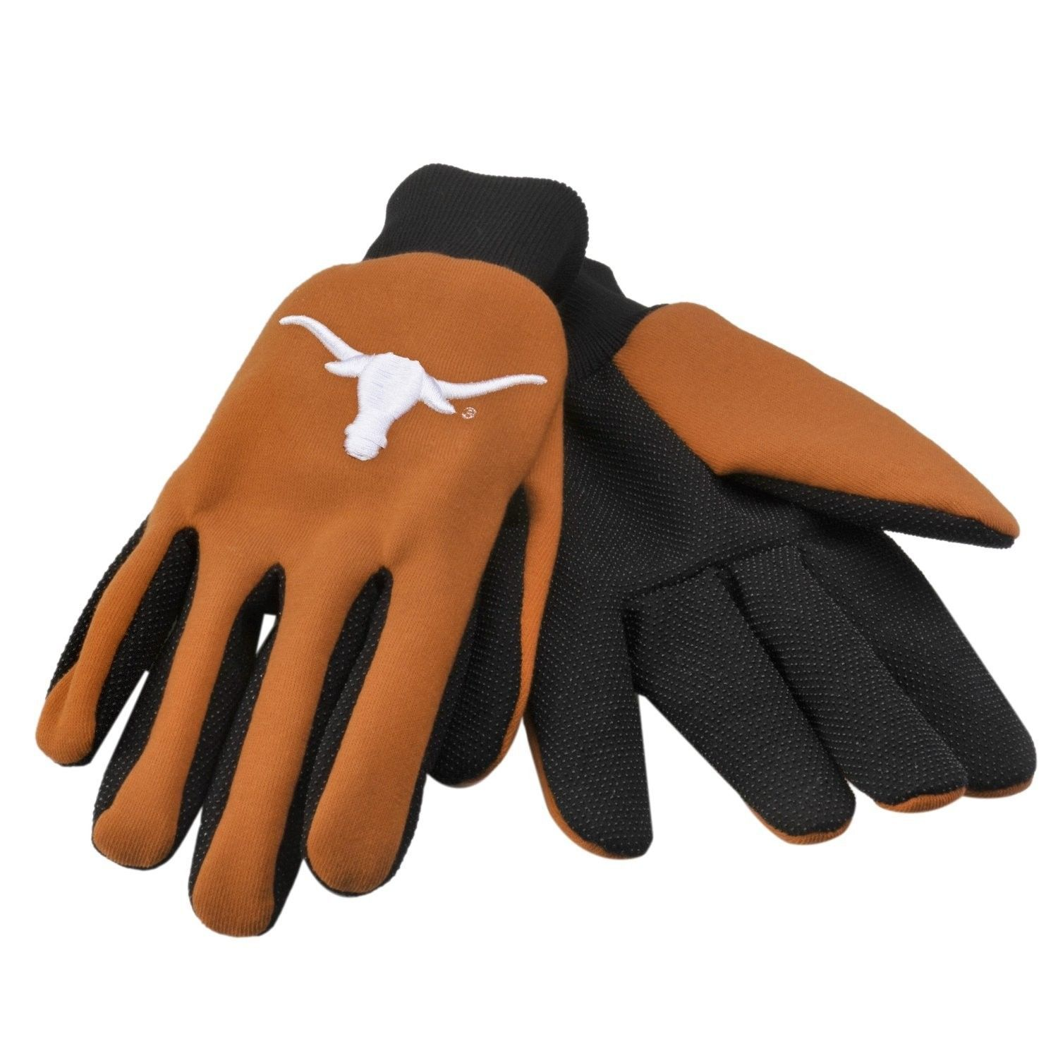 TEXAS LONGHORNS TEAM TAILGATE GAME DAY PARTY UTILITY WORK GLOVES