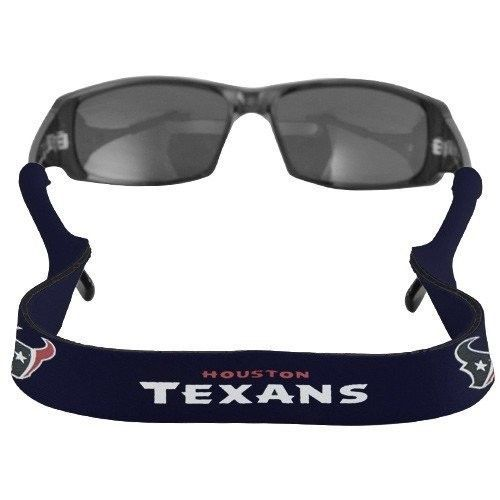 HOUSTON TEXANS CROAKIES SUNGLASSES EYEGLASS STRAP  NFL FOOTBALL