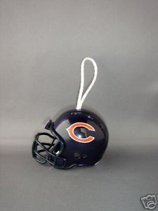 NFL FOOTBALL HELMET CHRISTMAS ORNAMENT CHICAGO BEARS