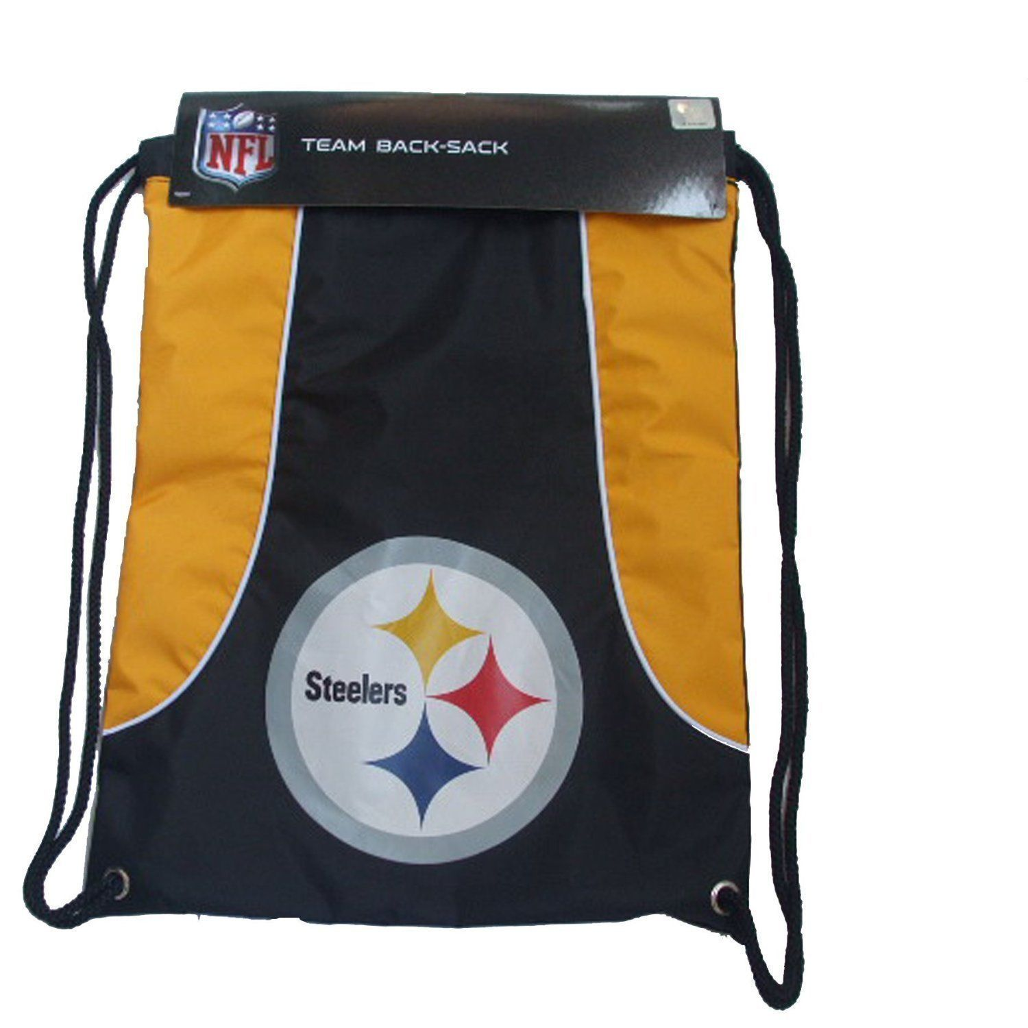 PITTSBURGH STEELERS BACK SACK PACK SCHOOL GYM BAG NFL FOOTBALL