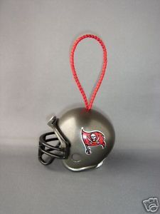 CHRISTMAS NFL FOOTBALL HELMET ORNAMENT TAMPA BAY BUCCANEERS