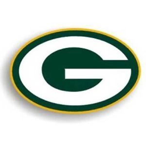 *BIG* TEAM LOGO MAGNET GREEN BAY PACKERS NFL FOOTBALL