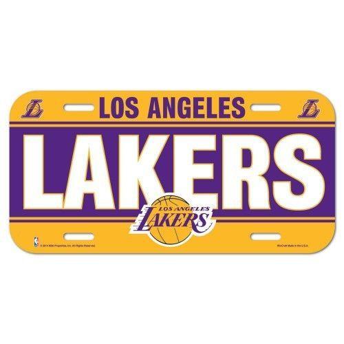 LOS ANGELES LAKERS CAR AUTO LICENSE PLATE TAG NBA BASKETBALL