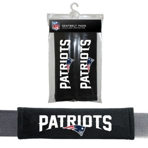 NEW ENGLAND PATRIOTS 2 VELOUR SEATBELT LAPTOP GYM BAG SHOULDER PADS NFL FOOTBALL