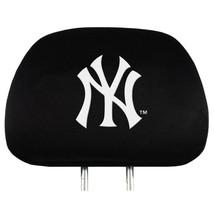 NEW YORK YANKEES CAR AUTO 2 TEAM HEAD REST COVERS  MLB BASEBALL - $16.49