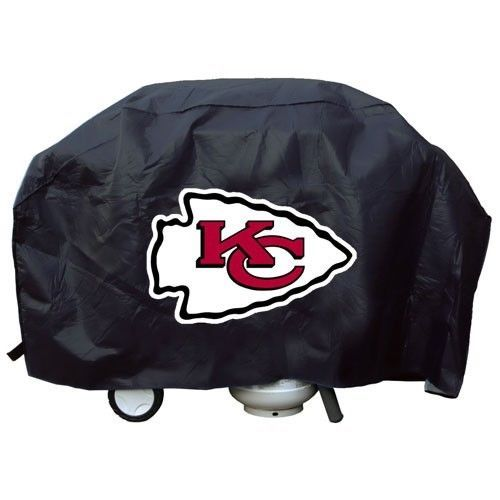 KANSAS CITY CHIEFS ECONOMY BARBEQUE BBQ GRILL COVER NFL FOOTBALL