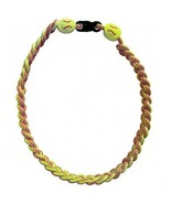 SOFTBALL TITANIUM IONIC BRAIDED NECKLACE - ENHANCE PERFORMANCE - $17.96