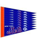 NEW YORK METS 8 PIECE FELT MINI PENNANTS SET PA... - $7.60
