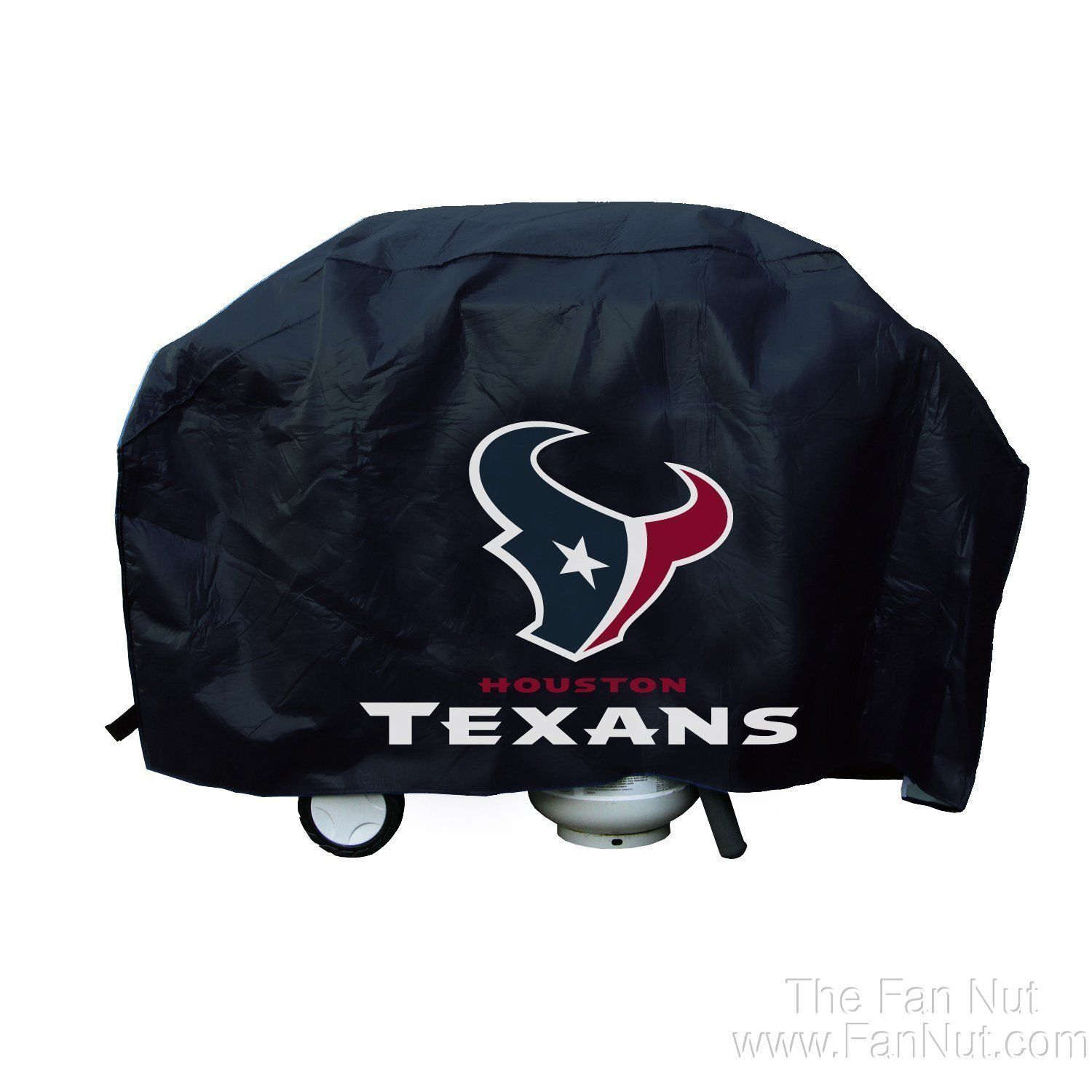 HOUSTON TEXANS ECONOMY BARBEQUE BBQ GRILL COVER NFL FOOTBALL