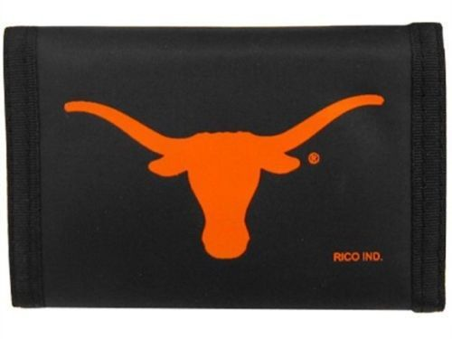 TEXAS LONGHORNS NYLON TRIFOLD WALLET  TEAM LOGO NCAA