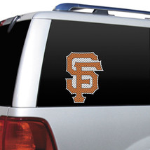 "BIG 12"" SAN FRANCISCO GIANTS CAR HOUSE PERFORATED WINDOW FILM DECAL MLB ... - $10.36"