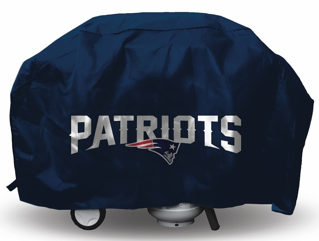 NEW ENGLAND PATRIOTS ECONOMY BARBEQUE BBQ GRILL COVER NFL FOOTBALL