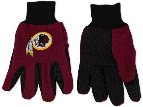 WASHINGTON REDSKINS TAILGATE GAME DAY PARTY UTILITY WORK GLOVES NFL FOOTBALL