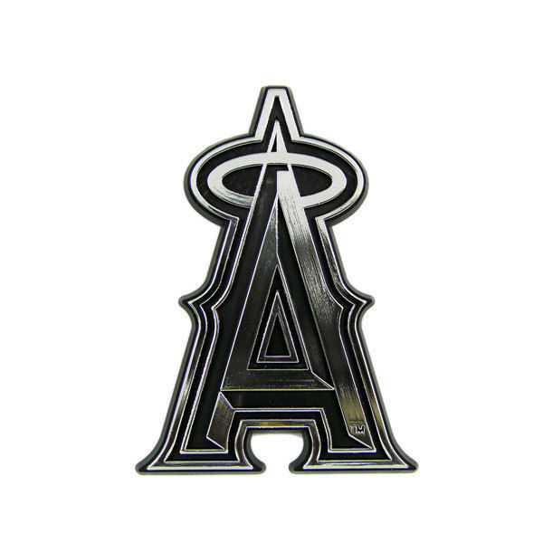 ANAHEIM ANGELS CAR AUTO 3-D CHROME SILVER TEAM LOGO EMBLEM MLB BASEBALL