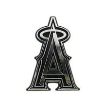 ANAHEIM ANGELS CAR AUTO 3-D CHROME SILVER TEAM LOGO EMBLEM MLB BASEBALL - $9.41