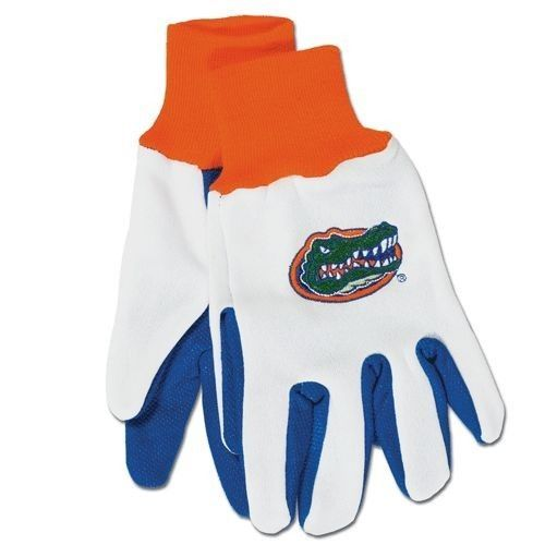 FLORIDA GATORS GLOVES TEAM TAILGATE GAME DAY PARTY UTILITY WORK GLOVES