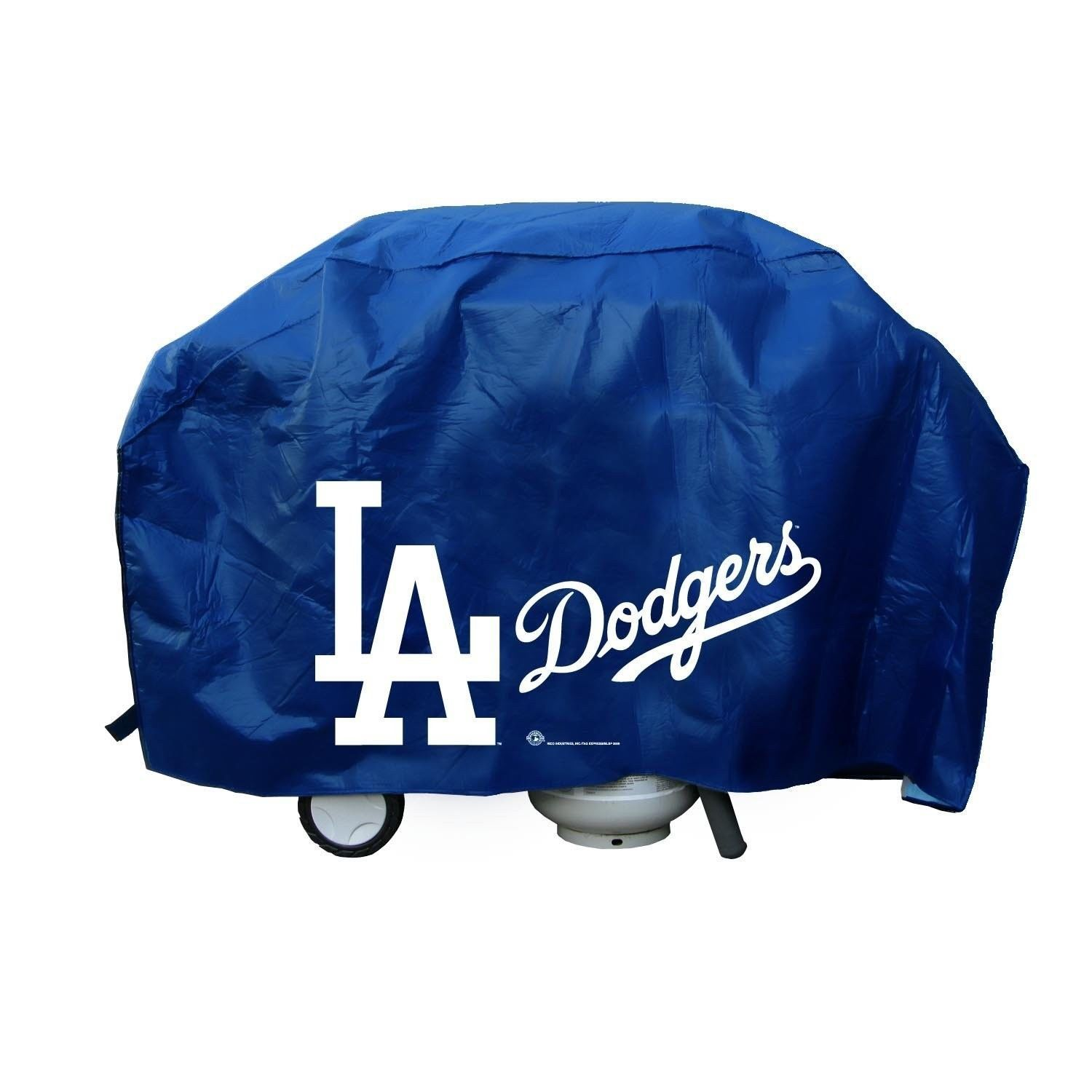 LOS ANGELES DODGERS ECONOMY BBQ BARBEQUE GRILL COVER COOKING MLB BASEBALL