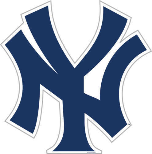 "NEW YORK YANKEES *BIG* 12"" MAGNET for CAR AUTO FRIDGE METAL MLB BASEBALL"