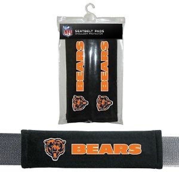 CHICAGO BEARS 2 VELOUR SEATBELT LAPTOP GYM BAGS SHOULDER PADS NFL FOOTBALL