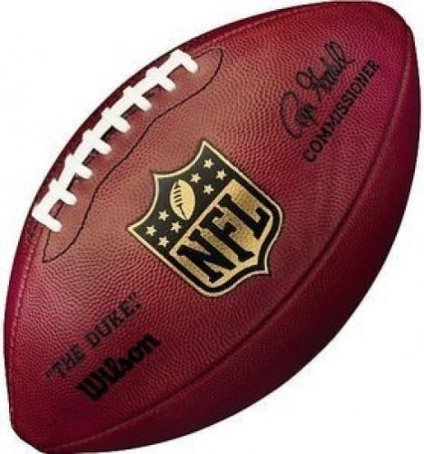 """WILSON AUTHENTIC NFL OFFICIAL ON-FIELD GAME FOOTBALL F1100 """"THE DUKE"""" - GOODELL"""