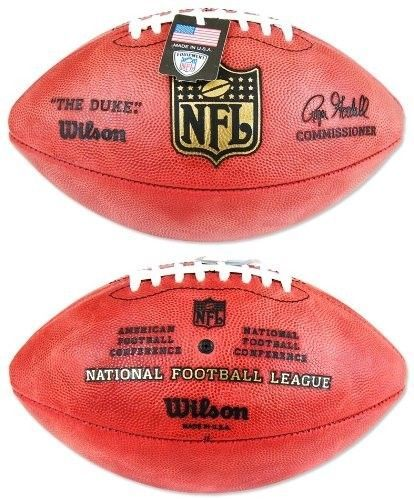 "WILSON AUTHENTIC NFL OFFICIAL ON-FIELD GAME FOOTBALL F1100 ""THE DUKE"" - GOODELL"