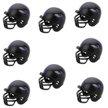 BALTIMORE RAVENS 8 PARTY PACK NFL FOOTBALL HELMETS RIDDELL - $13.93