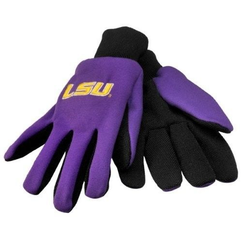 LSU TIGERS GLOVES TEAM TAILGATE GAME DAY PARTY UTILITY WORK GLOVES