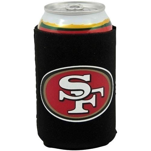 SAN FRANCISCO 49ERS BEER SODA WATER CAN BOTTLE KOOZIE KADDY HOLDER NFL FOOTBALL