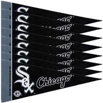 CHICAGO WHITE SOX 8 PIECE FELT MINI PENNANTS SET PACK MLB BASEBALL - $7.60