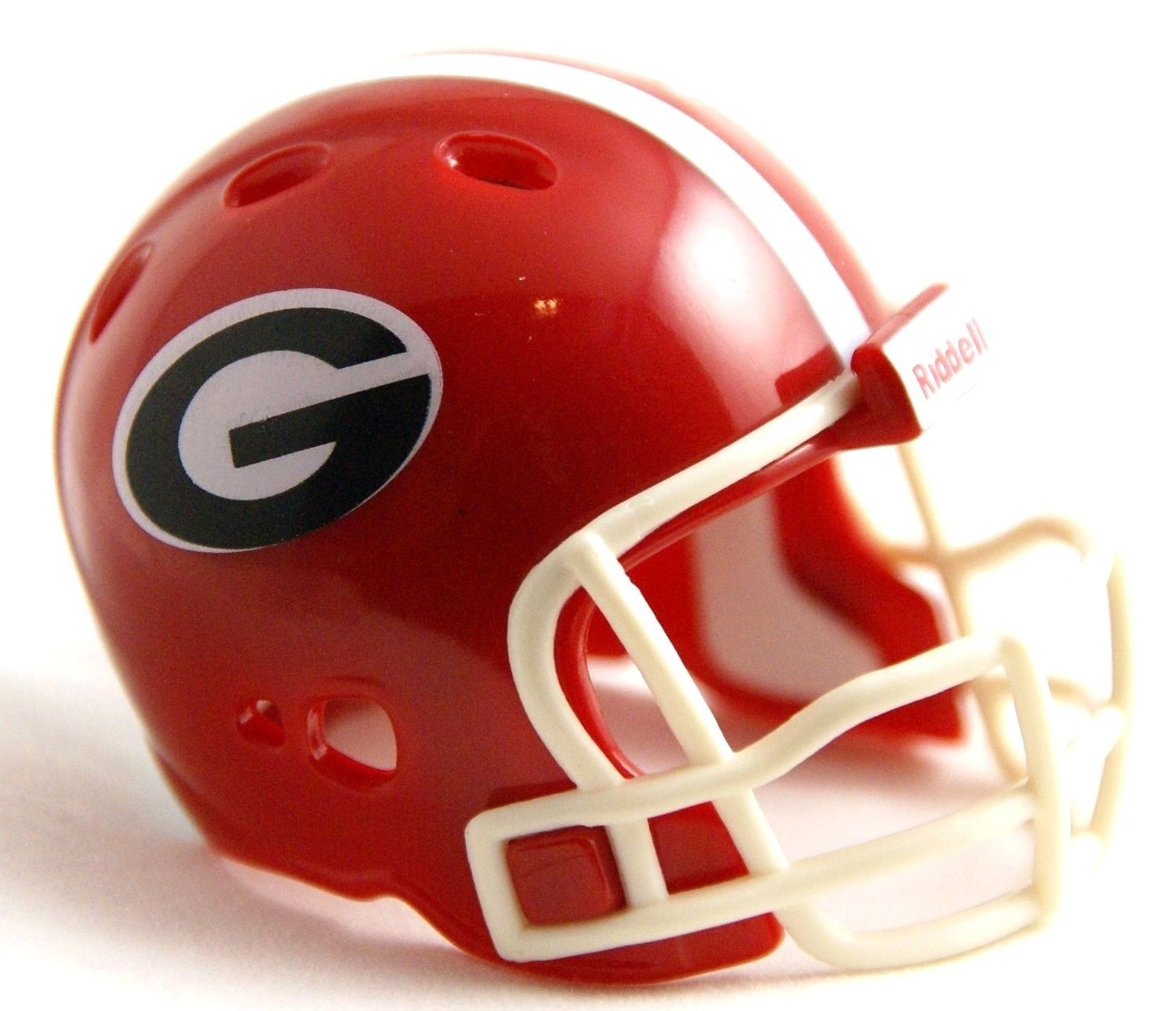 "GEORGIA BULLDOGS POCKET PRO FOOTBALL HELMET 2"" SIZE  Made By RIDDELL!"