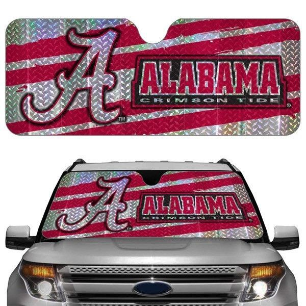 ALABAMA CRIMSON TIDE CAR AUTO WINDSHIELD SUN SHADE NCAA