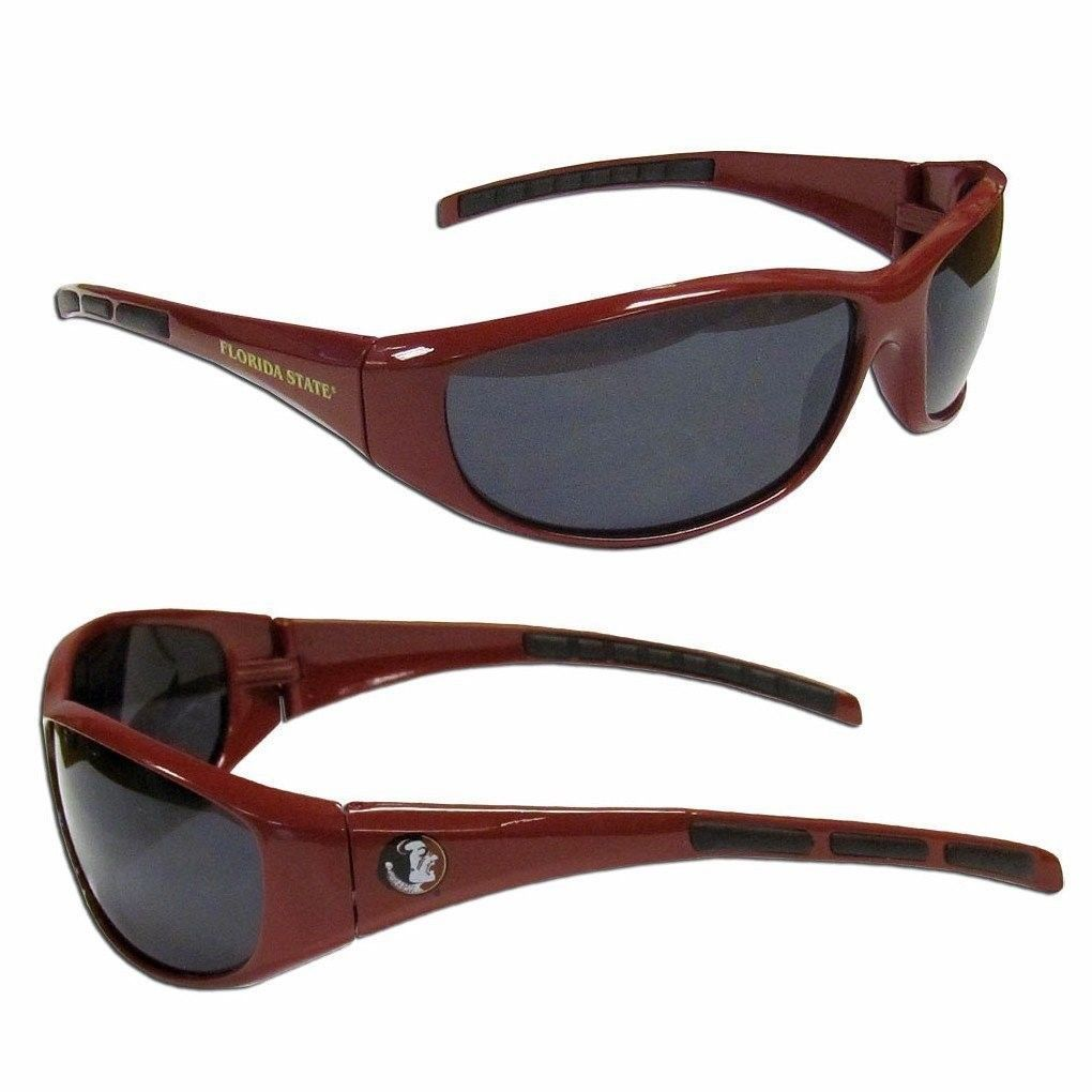 FLORIDA STATE SEMINOLES WRAP SUNGLASSES TEAM LOGO NCAA COLLEGE