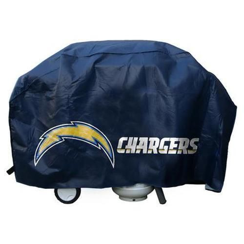 SAN DIEGO CHARGERS ECONOMY BARBEQUE COOKING GRILL COVER NFL FOOTBALL
