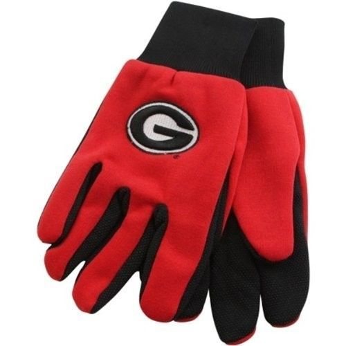 GEORGIA BULLDOGS TEAM TAILGATE GAME DAY PARTY UTILITY WORK GLOVES
