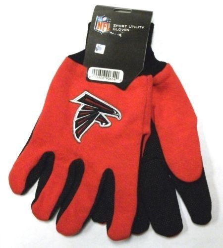 ATLANTA FALCONS TAILGATE GAME DAY PARTY UTILITY WORK GLOVES NFL FOOTBALL