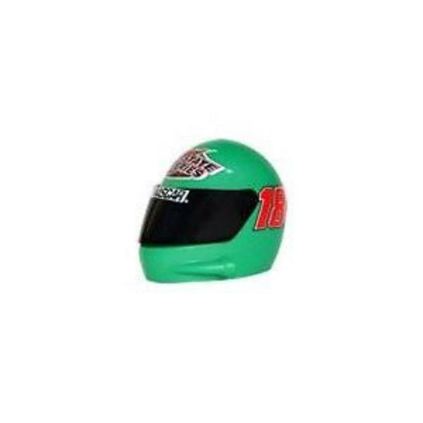 BOBBY LABONTE # 18 INTERSTATE ANTENNA TOPPER DANGLER NASCAR HELMET