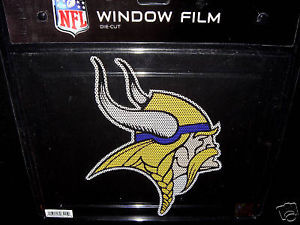 CAR WINDOW FILM DECAL MINNESOTA VIKINGS NFL FOOTBALL
