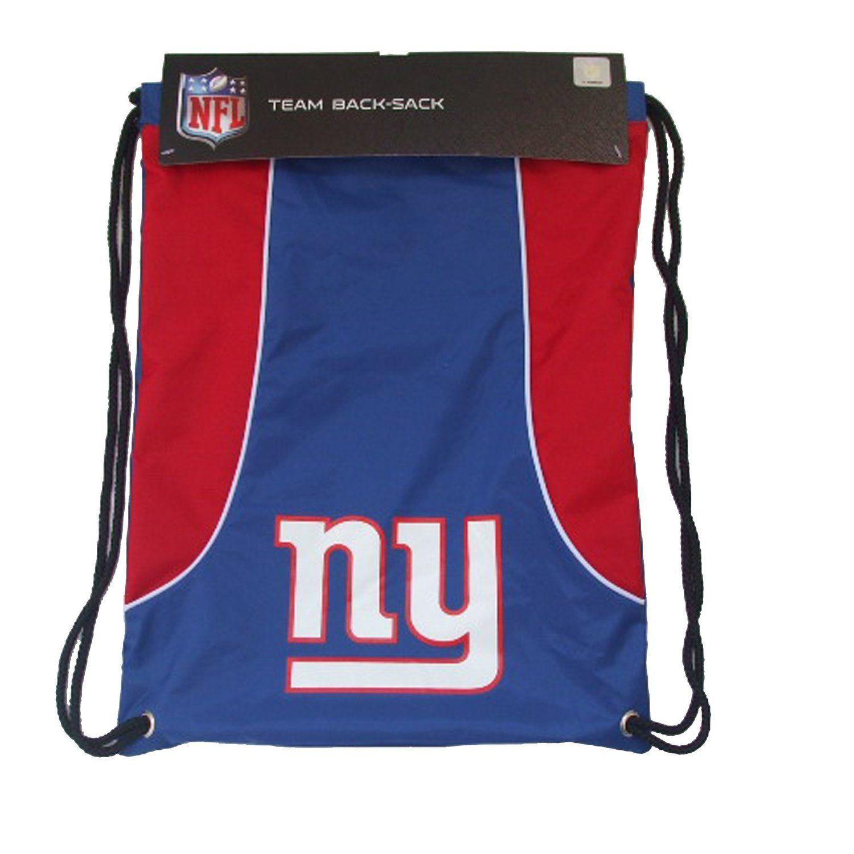 NEW YORK GIANTS BACK SACK PACK SCHOOL GYM BAG NFL FOOTBALL