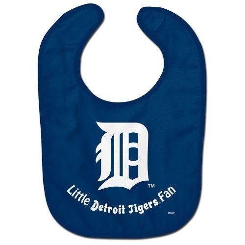 DETROIT TIGERS ALL PRO BABY BIB VELCRO CLOSURE TEAM LOGO MLB BASEBALL