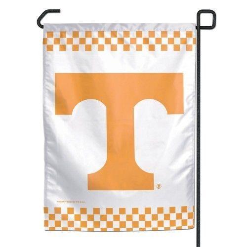"""TENNESSEE VOLUNTEERS TEAM GARDEN YARD WALL FLAG BANNER 11"""" X 15"""" NCAA"""