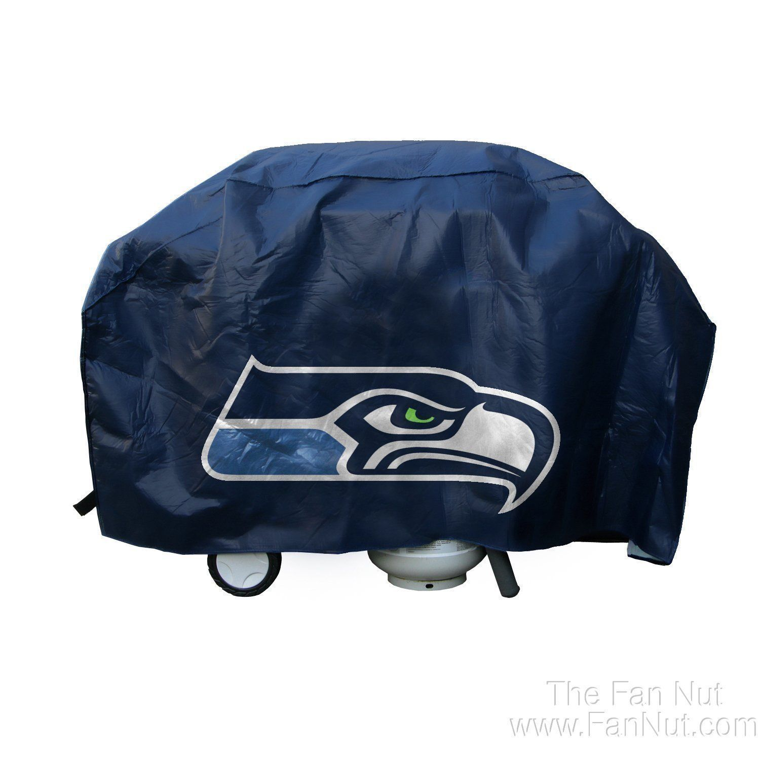 SEATTLE SEAHAWKS ECONOMY BARBEQUE BBQ GRILL COVER NFL FOOTBALL