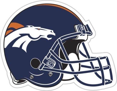 """DENVER BRONCOS *BIG* 12"""" MAGNET for CAR AUTO FRIDGE METAL NFL FOOTBALL"""