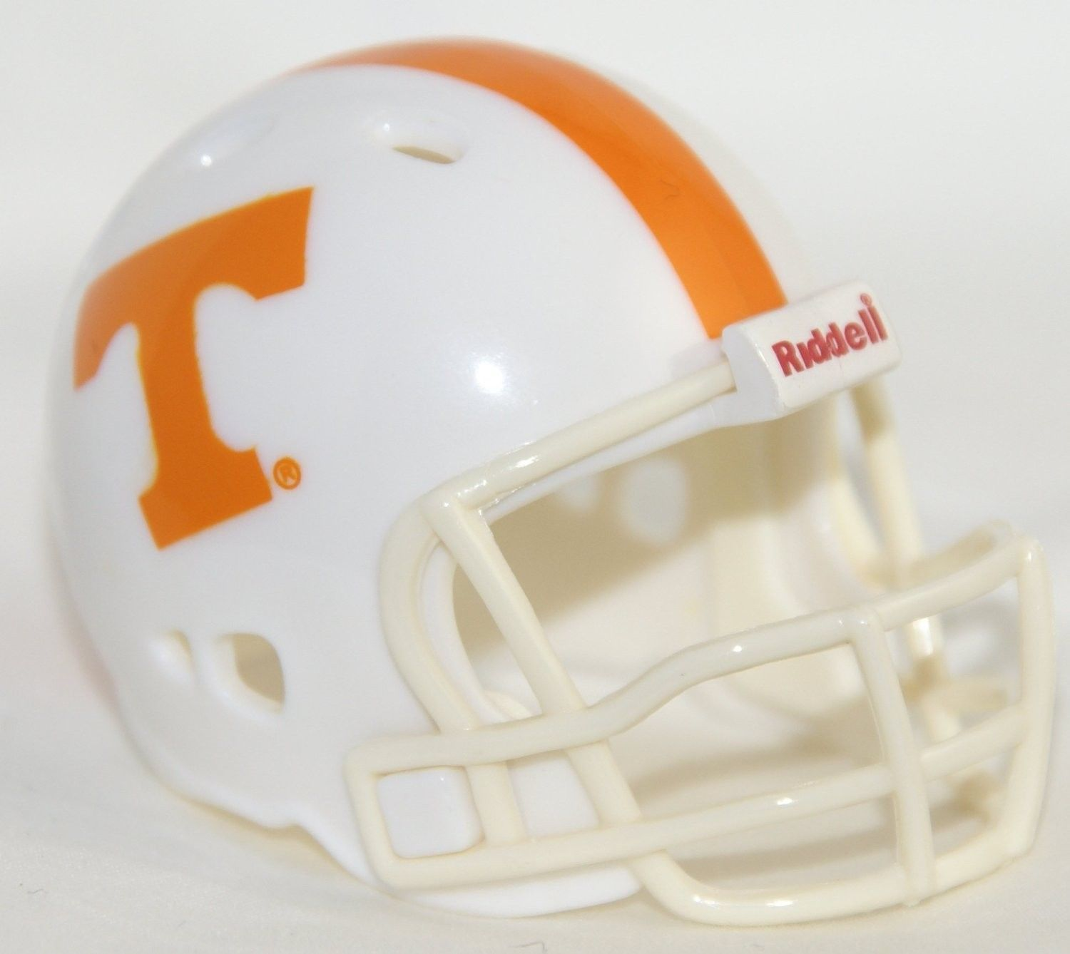 "2 TENNESSEE VOLUNTEERS POCKET PRO FOOTBALL HELMET 2"" SIZE  Made By RIDDELL!"