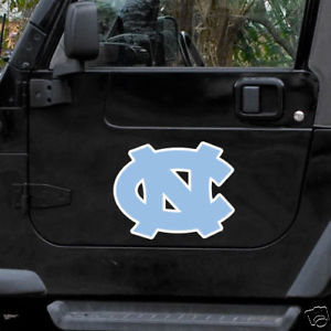 "NORTH CAROLINA TAR HEELS *BIG* 12"" CAR FRIDGE MAGNET"