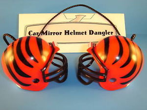 CINCINNATI BENGALS CAR/HOUSE NFL FOOTBALL HELMET KNOCKERS-Hang from Anything!