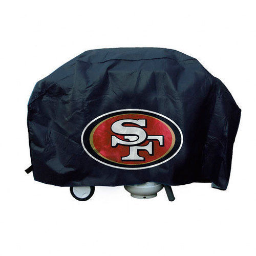 SAN FRANCISCO 49ERS ECONOMY BARBEQUE BBQ GRILL COVER NFL FOOTBALL