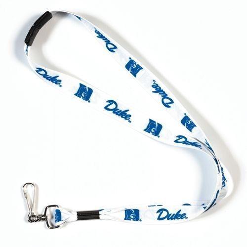 DUKE BLUE DEVILS TEAM LANYARD KEYCHAIN TICKET HOLDER SAFE BREAKAWAY BACK #1