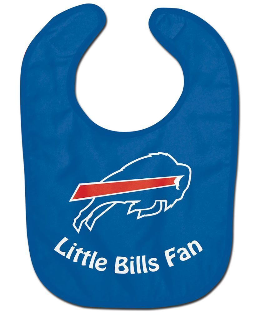 BUFFALO BILLS ALL PRO BABY BIB VELCRO CLOSURE TEAM COLOR LOGO NFL FOOTBALL